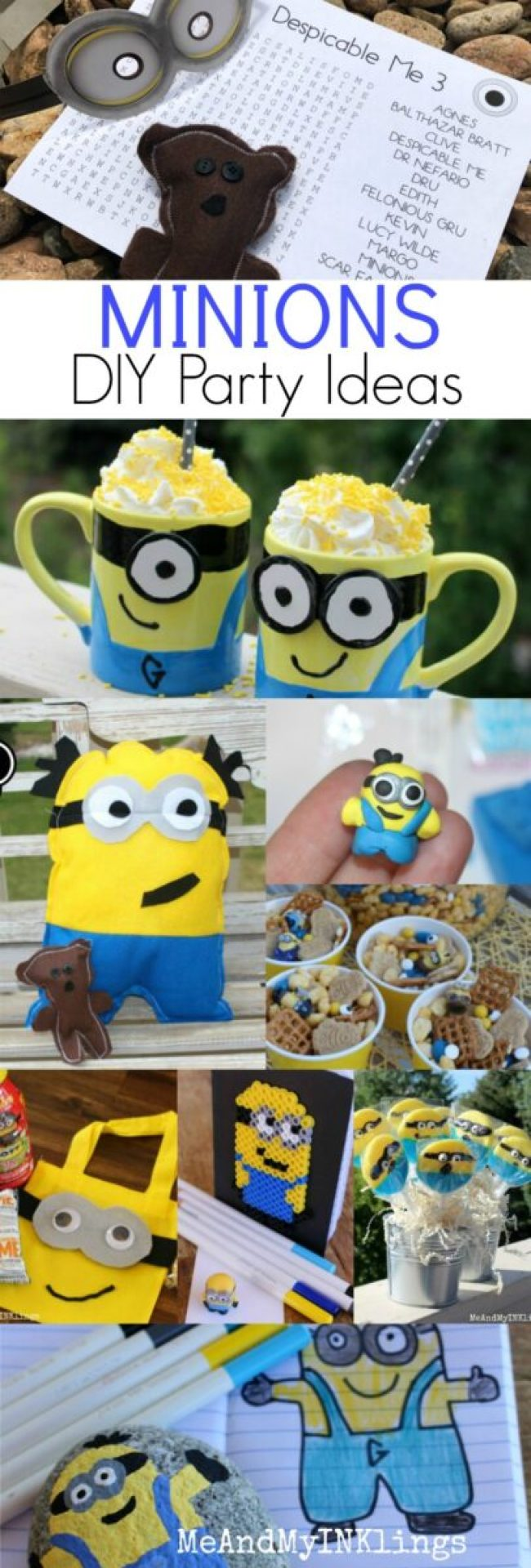 Diy Minion Party Ideas And A Printable Laura Kelly S Inklings