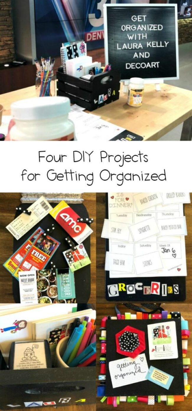 DIY Organization Tips and Projects