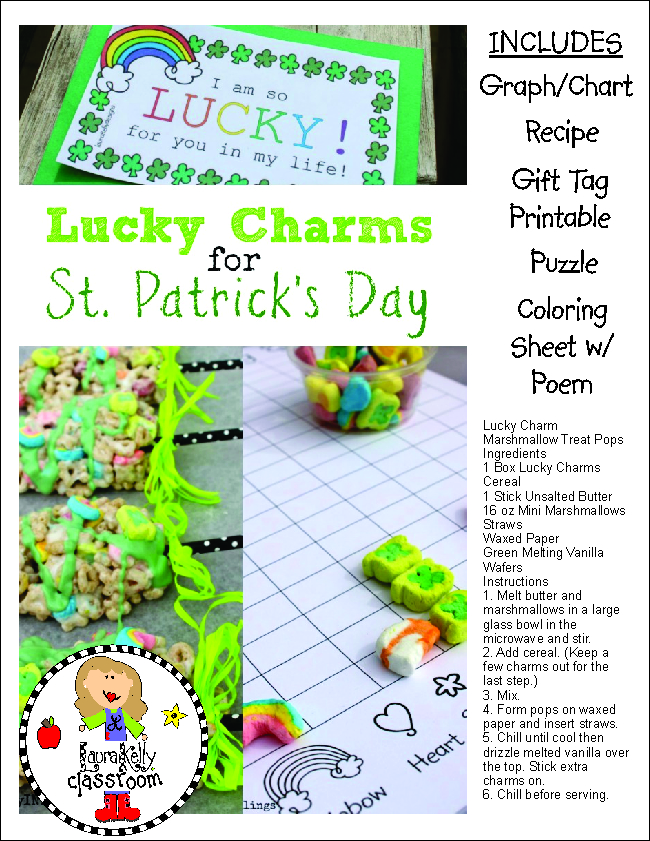 Lucky Charms Activity Pack of Learning Fun