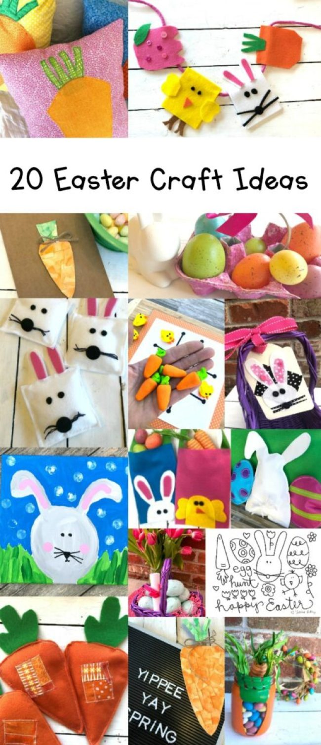 20 DIY Easter Craft Project Ideas
