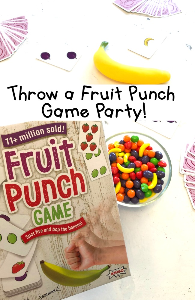 Throw a Fruit Punch Game Party