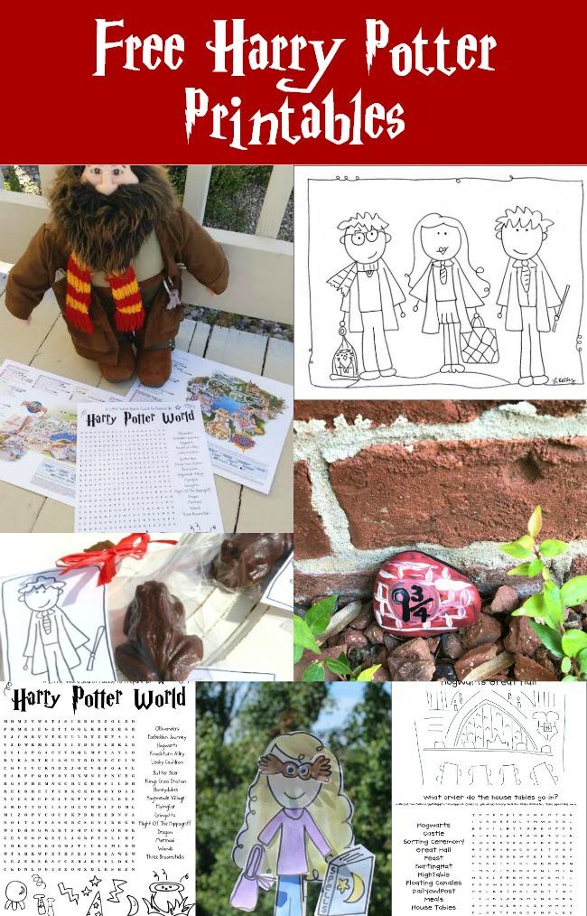 Free-Harry-Potter-Printables