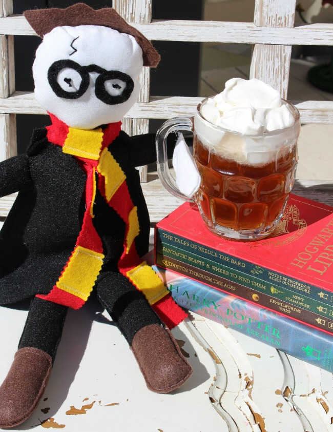 DIY Harry Potter Rag Doll with PolyFil
