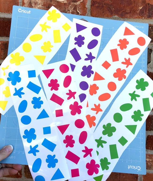 Cricut Kindness Favor Confetti Vinyl