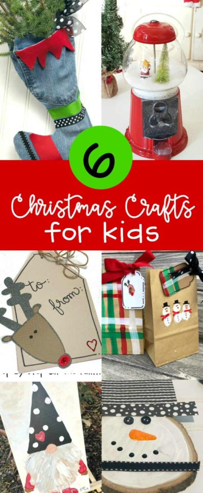 Six Christmas Crafts for Kids