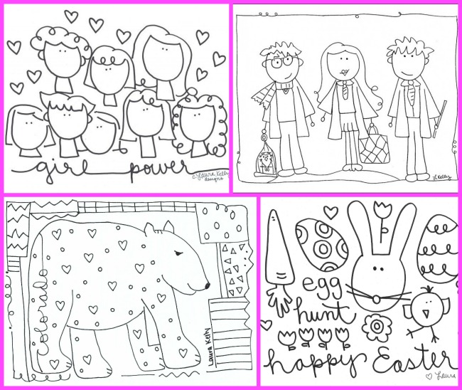 Coloring Pages Laura Kelly Free Printable Library 2