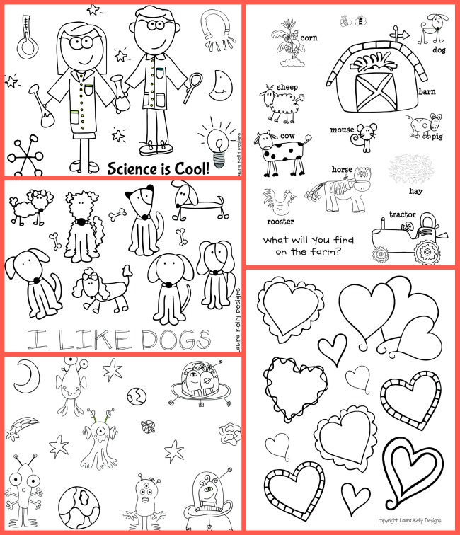 Coloring Pages Laura Kelly Free Printable Library 3