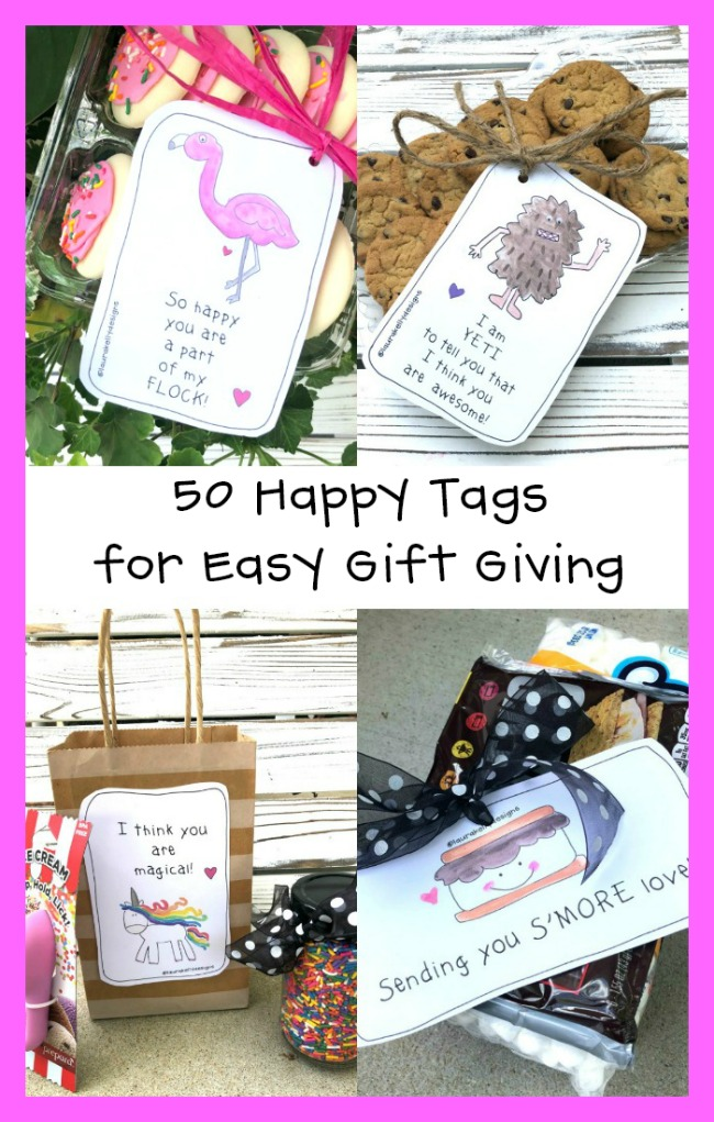 Happy Tags for Creating Easy Gift Giving