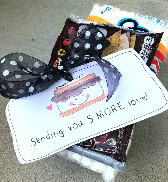 Printable Gift Tag Happy SMore