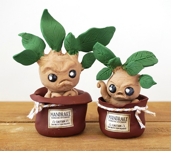 Mandrakes with Clay