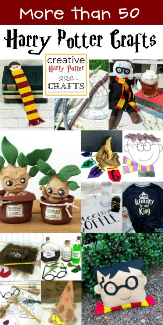 Proven Best Harry Potter Crafts and DIYS great for parties and decorations including #painting #claycrafts #sewing #recipes #potions #wands #harrypotter #hogwarts
