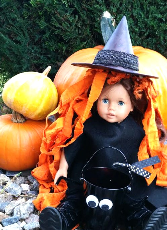 American Girl Doll Costume Witch