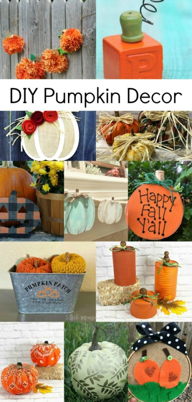 Best Fall Pumpkin DIY Decor