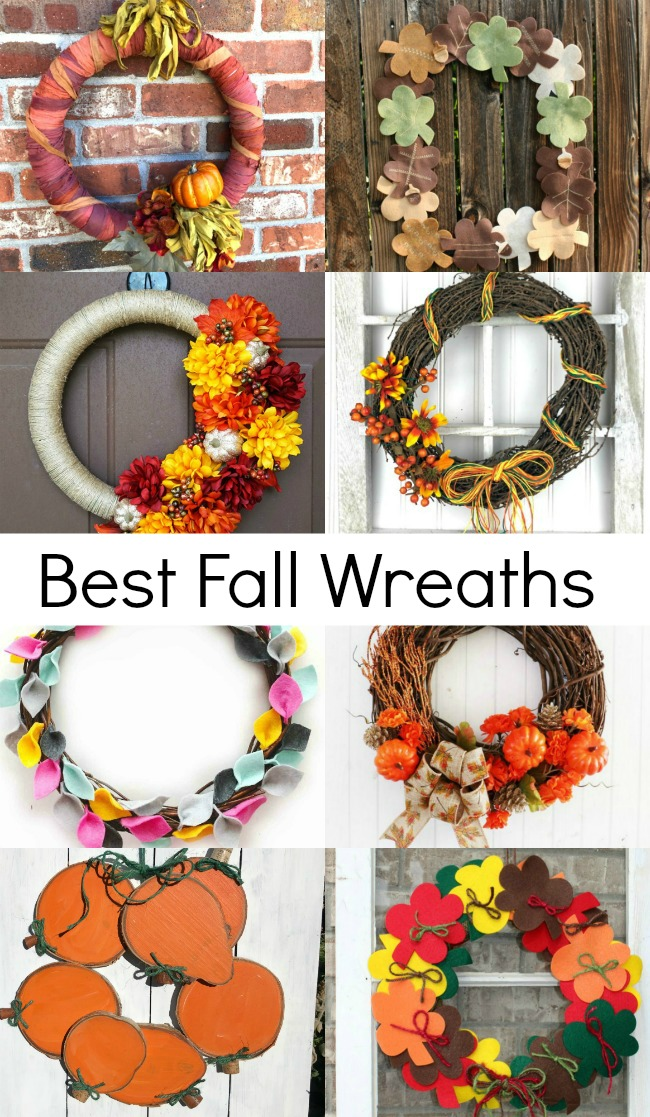 Best Fall Wreaths #DIYFALLWREATH #FALLWREATHS