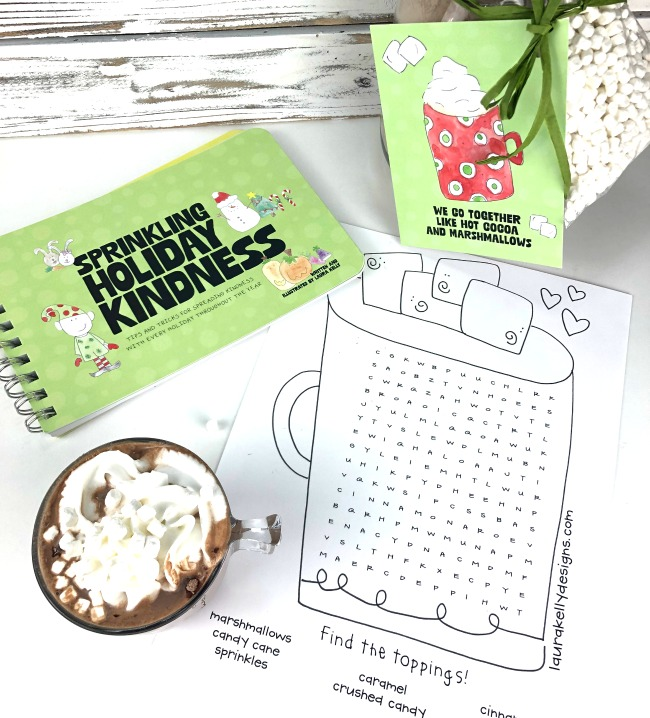 Sprinkling Holiday Kindness Book and Hot Cocoa Puzzle