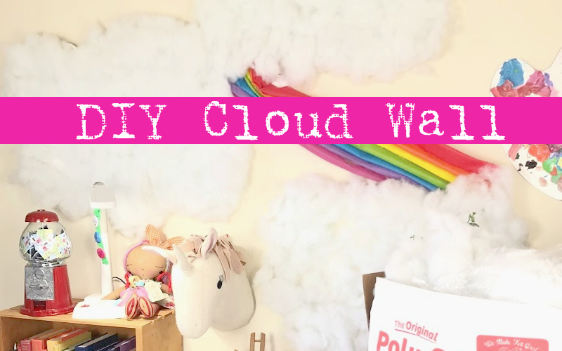 DIY Cloud Ceiling and Walls