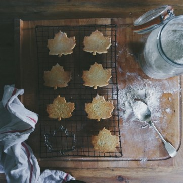 AUTUMN LEAF SABLE BISCUITS