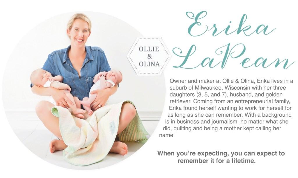Erika-LaPean-Ollie-Olina-Quilts-Mompreneuer-Bio