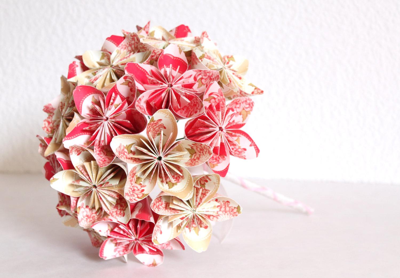 Everlasting Origami Paper Flower Bouquet