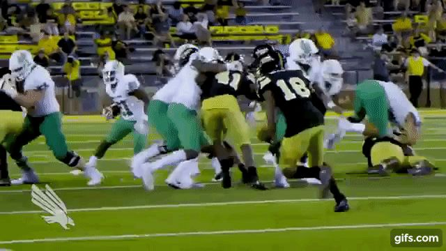 Nic Smith with some wiggle