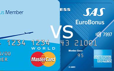 SAS Amex VS MasterCard