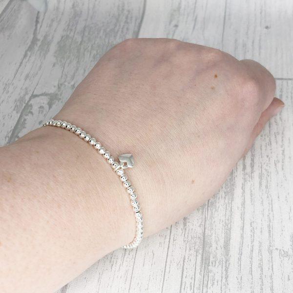Mother & Daughter Bracelet Set, Stacking Bracelets, Long Distance Gifts, Mothers Day
