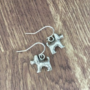 scotty dog earrings