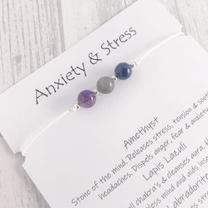 Anxiety & Stress Bracelet, cord, stress jewellery, anxiety jewelry