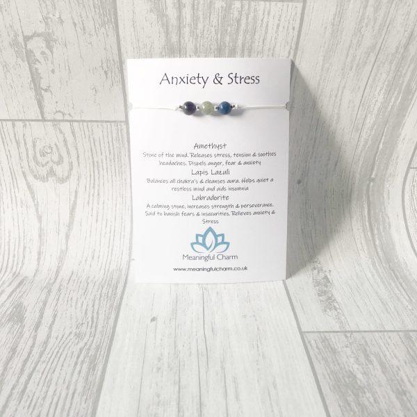Anxiety & Stress Bracelet, cord, stress jewellery, anxiety jewelry