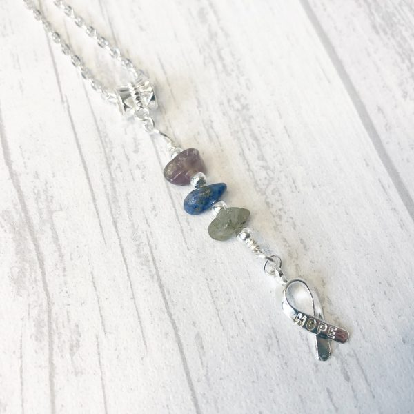Depression, Stress & Anxiety Necklace Gemstone Healing