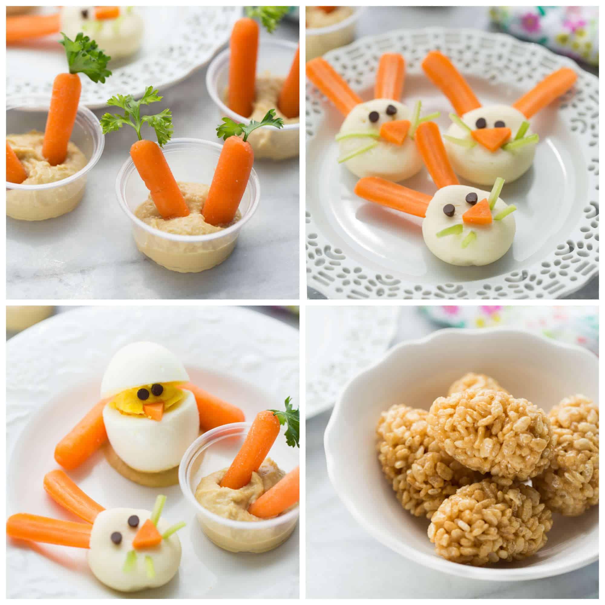 4 Healthy Kids Easter Snacks