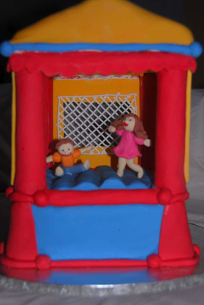 Bouncy House Cake
