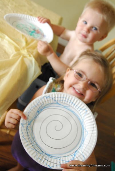 1-spiral paper plates 145