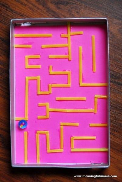 1-#marble maze #DIY #craft kids-035