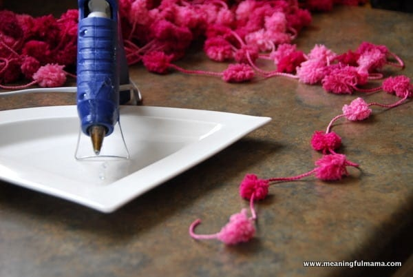 1-#potterybarn #garland #flower #DIY
