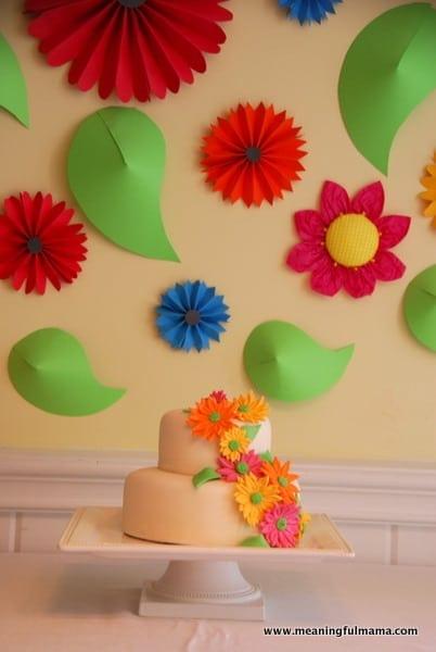 1-#spring #party #girl #cake