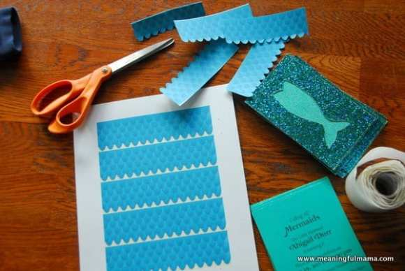 1-#mermaid pary #invitations #diy-020