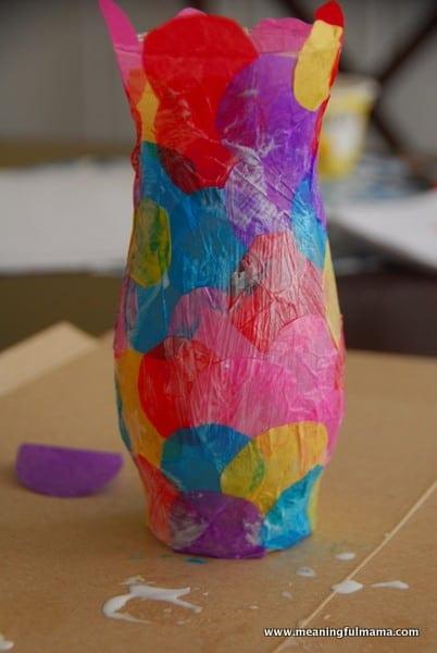1-#polka dot vase #craft #kids-027