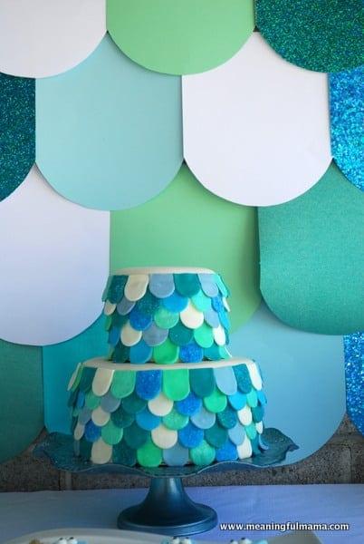 1-#mermaid #cake #decorating -002