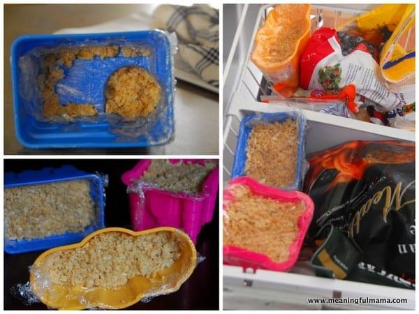 1-#mermaid party #rice krispy treat #sand castle #food ideas