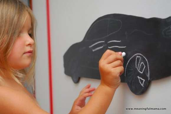 1-#chalkboard #diy #custom shape #jigsaw-030