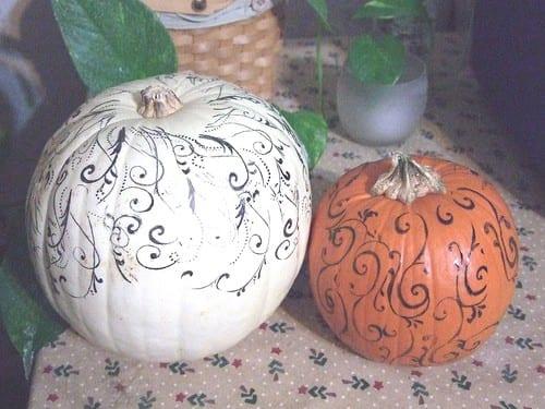 1-#pumpkins #no carve #beautiful-005