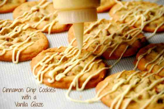 #cinnamon chip #cookies #vanilla glaze-017