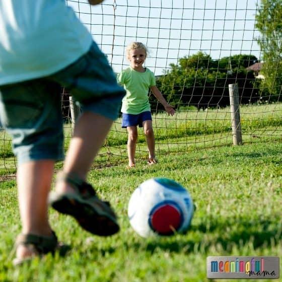 best beginning soccer drills