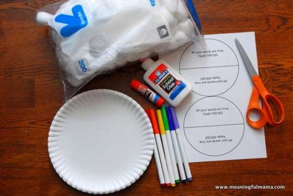 1-#rainbow paper plate craft #cubbies bear hug #8 #awana-003