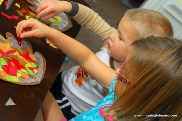 1-#thanksgiving turkey #craft #footprint #craft for kids-020