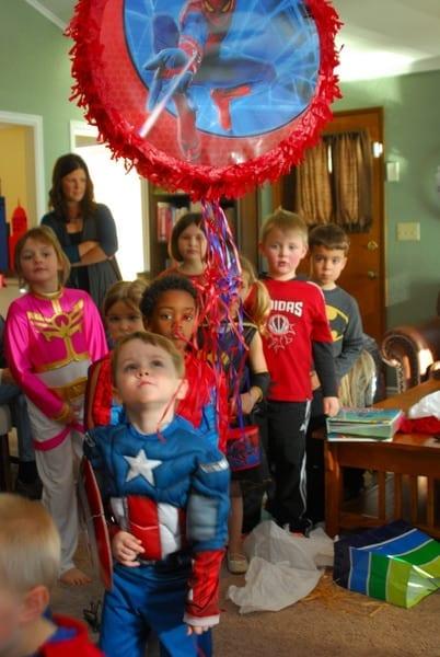 1-#superhero birthday party #ideas #3 year old-143