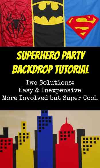 #superhero #partydecorations backdrop