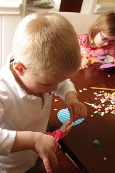1-Easter Egg Craft Ideas Textured Foam  Mar 25, 2014, 11-058