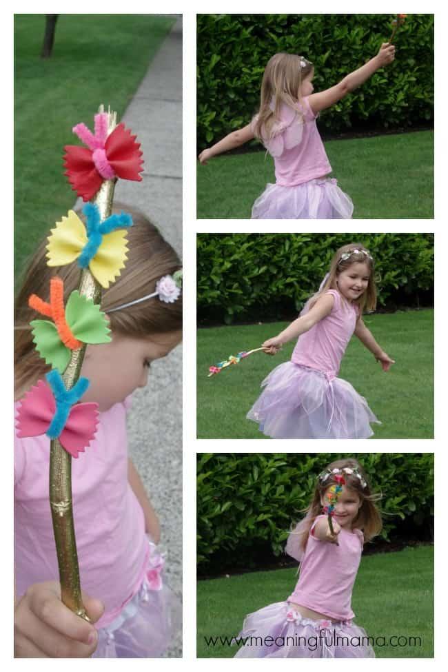 butterfly garden fairy wands